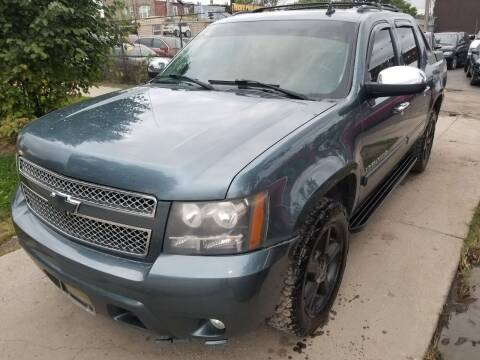 2008 Chevrolet Avalanche for sale at WEST END AUTO INC in Chicago IL