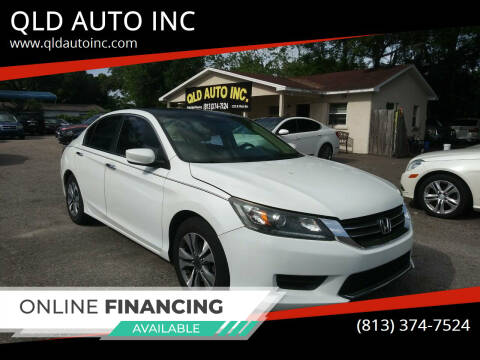 2013 Honda Accord for sale at QLD AUTO INC in Tampa FL