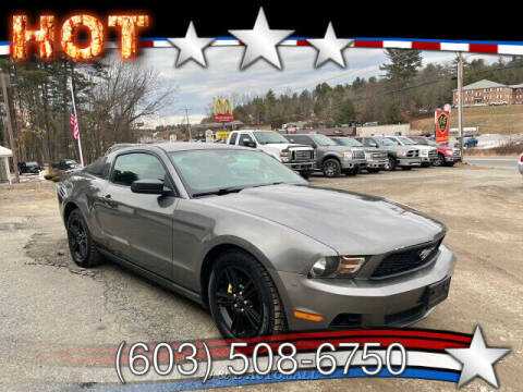 2010 Ford Mustang for sale at J & E AUTOMALL in Pelham NH