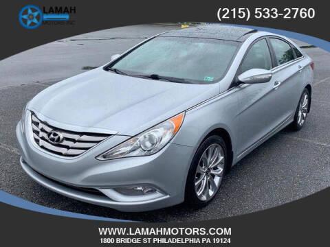 2012 Hyundai Sonata for sale at LAMAH MOTORS INC in Philadelphia PA