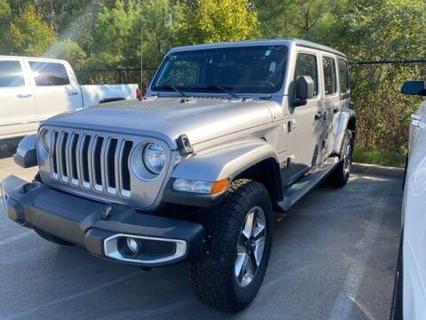 2020 Jeep Wrangler Unlimited for sale at The Car Guy powered by Landers CDJR in Little Rock AR