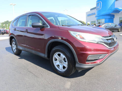 2015 Honda CR-V for sale at RUSTY WALLACE HONDA in Knoxville TN