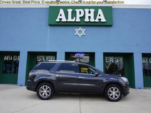 2015 GMC Acadia for sale at ALPHA AUTOMOBILE SALES, LLC in Lafayette LA