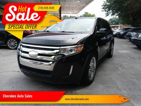 2013 Ford Edge for sale at Cherokee Auto Sales in Acworth GA