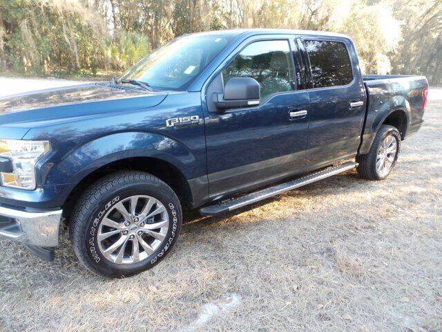 2017 Ford F-150 for sale at TIMBERLAND FORD in Perry FL