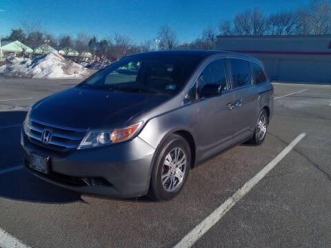 2013 Honda Odyssey for sale at B&B Auto LLC in Union NJ