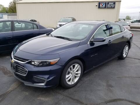 2016 Chevrolet Malibu for sale at Larry Schaaf Auto Sales in Saint Marys OH