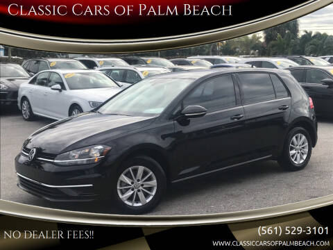 2019 Volkswagen Golf for sale at Classic Cars of Palm Beach in Jupiter FL