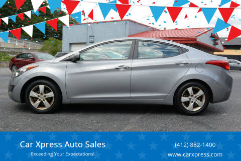 2013 Hyundai Elantra for sale at Car Xpress Auto Sales in Pittsburgh PA