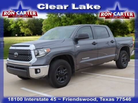 2019 Toyota Tundra for sale at Ron Carter  Clear Lake Used Cars in Houston TX