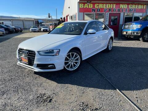 2015 Audi A4 for sale at Yaktown Motors in Union Gap WA