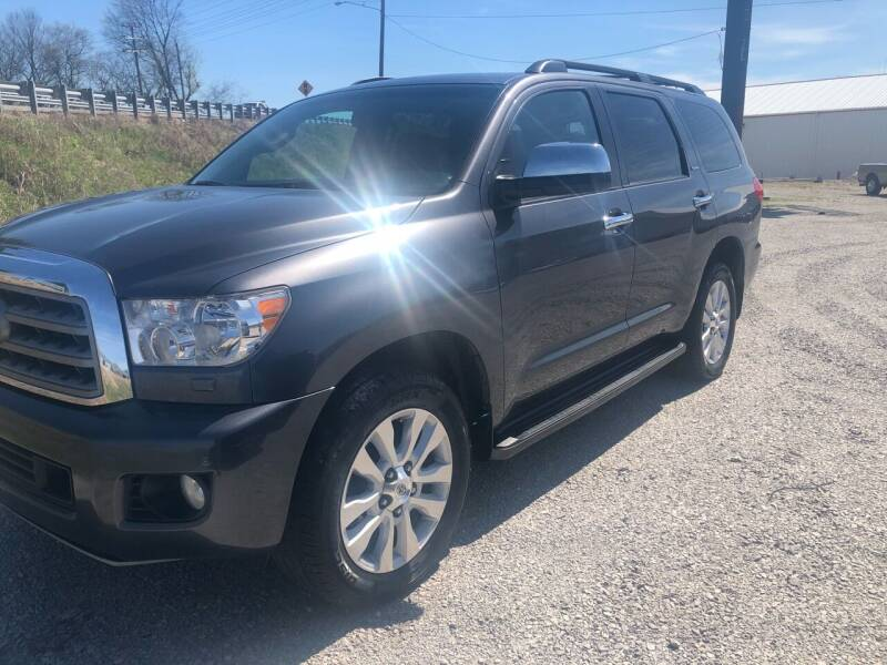 2016 Toyota Sequoia for sale at COUNTRYSIDE AUTO SALES in Russellville KY