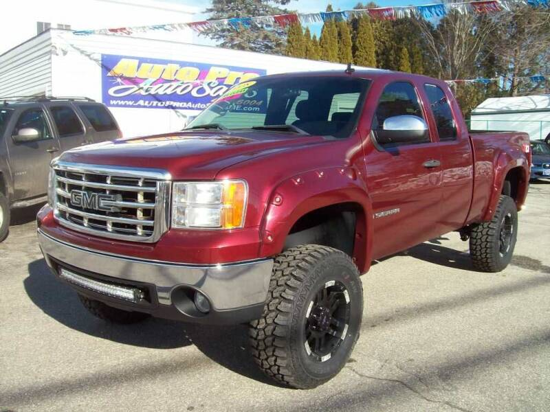 2008 GMC Sierra 1500 for sale at Auto Pro Auto Sales in Lewiston ME