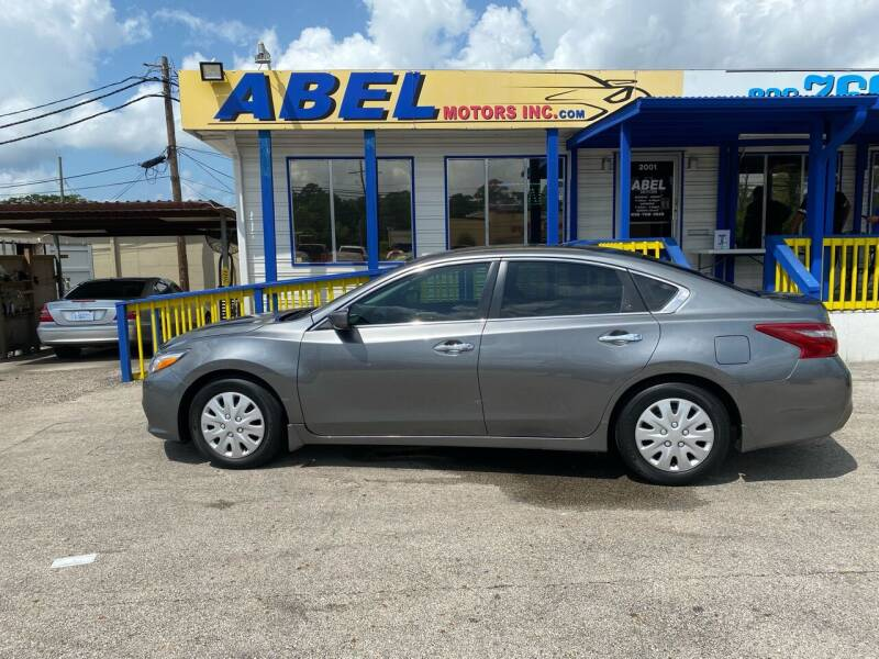 2018 Nissan Altima for sale at Abel Motors, Inc. in Conroe TX