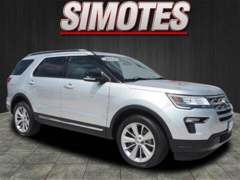 2018 Ford Explorer for sale at SIMOTES MOTORS in Minooka IL