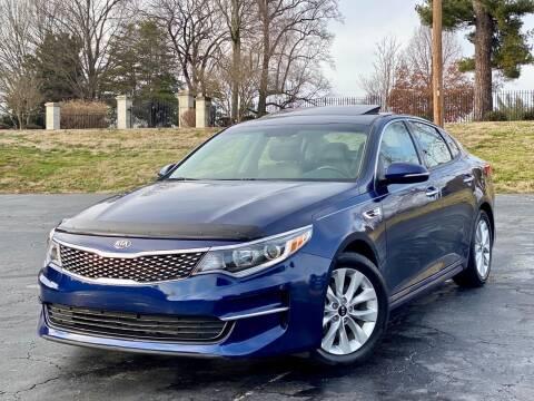 2018 Kia Optima for sale at Sebar Inc. in Greensboro NC