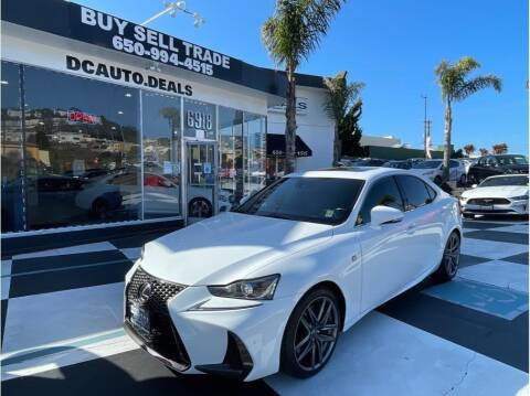 2018 Lexus IS 300 for sale at AutoDeals in Daly City CA