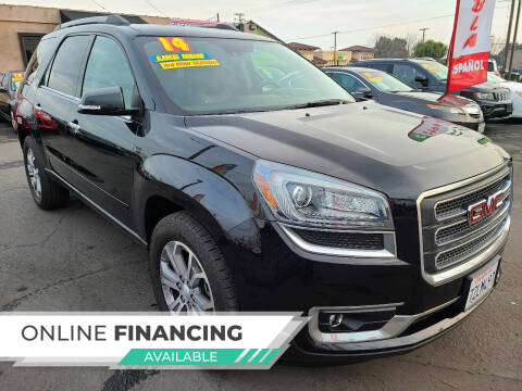 2014 GMC Acadia for sale at Super Cars Sales Inc #1 - Super Auto Sales Inc #2 in Modesto CA