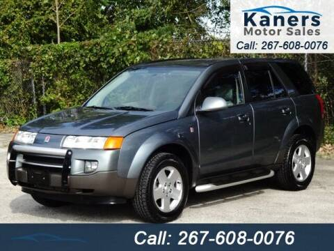 2005 Saturn Vue for sale at Kaners Motor Sales in Huntingdon Valley PA