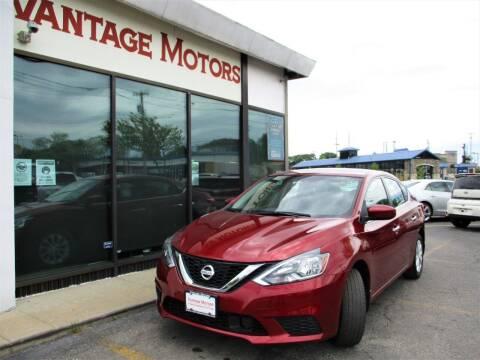 2018 Nissan Sentra for sale at Vantage Motors LLC in Raytown MO