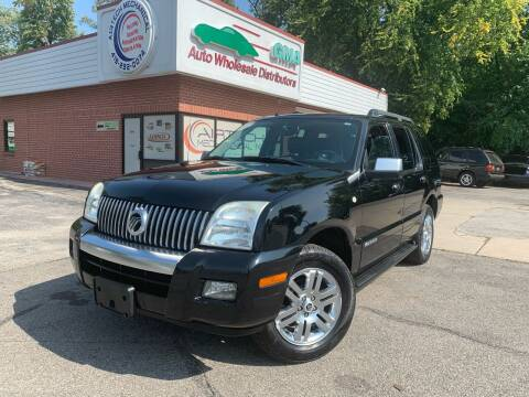 2007 Mercury Mountaineer for sale at GMA Automotive Wholesale in Toledo OH