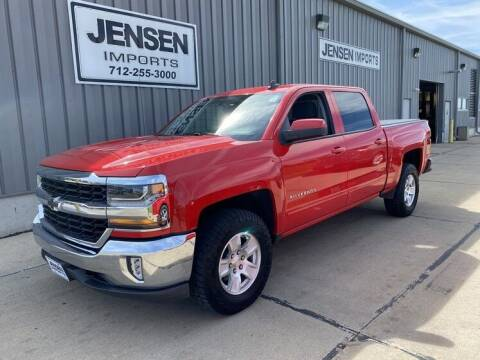 2017 Chevrolet Silverado 1500 for sale at Jensen's Dealerships in Sioux City IA