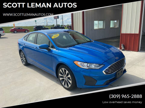 2020 Ford Fusion for sale at SCOTT LEMAN AUTOS in Goodfield IL