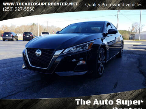 2020 Nissan Altima for sale at The Auto Super Center in Centre AL