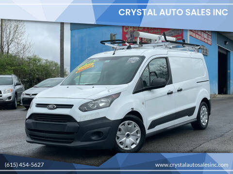 2014 Ford Transit Connect Cargo for sale at Crystal Auto Sales Inc in Nashville TN