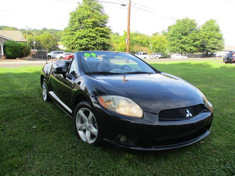 2009 Mitsubishi Eclipse Spyder for sale at Euro Asian Cars in Knoxville TN