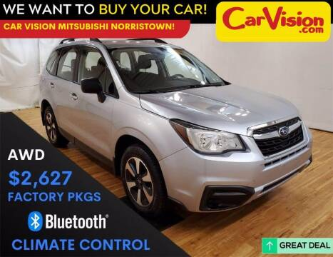 2017 Subaru Forester for sale at Car Vision Mitsubishi Norristown in Trooper PA