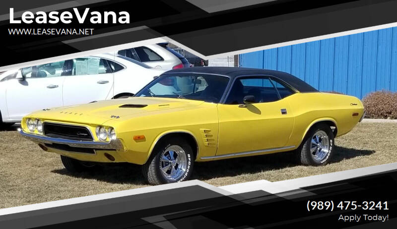 1973 Dodge Challenger for sale at LeaseVana in Saginaw MI