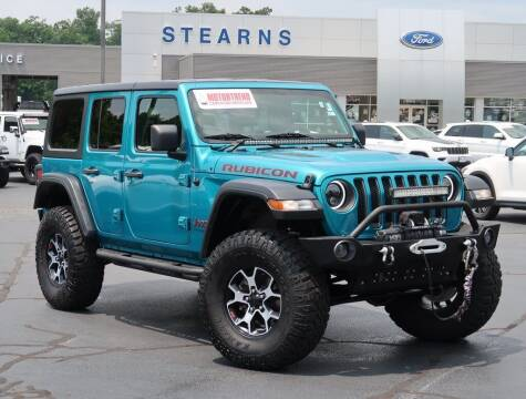 2019 Jeep Wrangler Unlimited for sale at Stearns Ford in Burlington NC