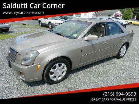 2004 Cadillac CTS for sale at Saldutti Car Corner in Gilbertsville PA