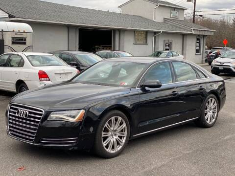 2011 Audi A8 for sale at QUALITY AUTO SALES OF NEW YORK in Medford NY