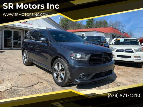 2014 Dodge Durango for sale at SR Motors Inc in Gainesville GA