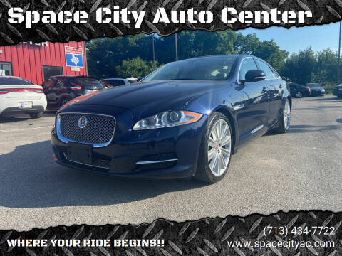 2015 Jaguar XJL for sale at Space City Auto Center in Houston TX