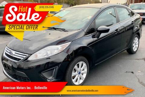 2012 Ford Fiesta for sale at American Motors Inc. - Belleville in Belleville IL