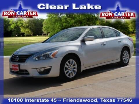2013 Nissan Altima for sale at Ron Carter  Clear Lake Used Cars in Houston TX