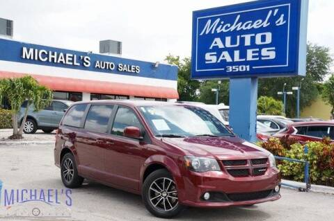 2019 Dodge Grand Caravan for sale at Michael's Auto Sales Corp in Hollywood FL