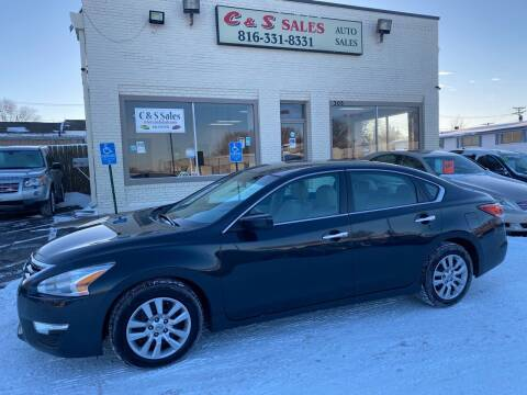 2014 Nissan Altima for sale at C & S SALES in Belton MO