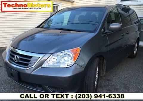 2009 Honda Odyssey for sale at Techno Motors in Danbury CT