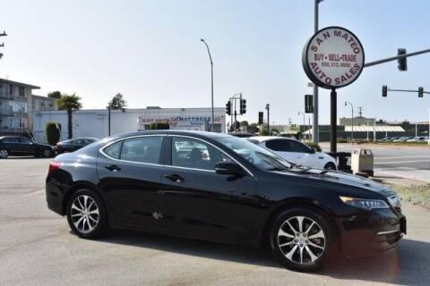 2015 Acura TLX for sale at San Mateo Auto Sales in San Mateo CA