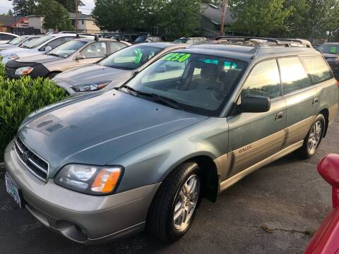 2001 Subaru Outback for sale at Blue Line Auto Group in Portland OR