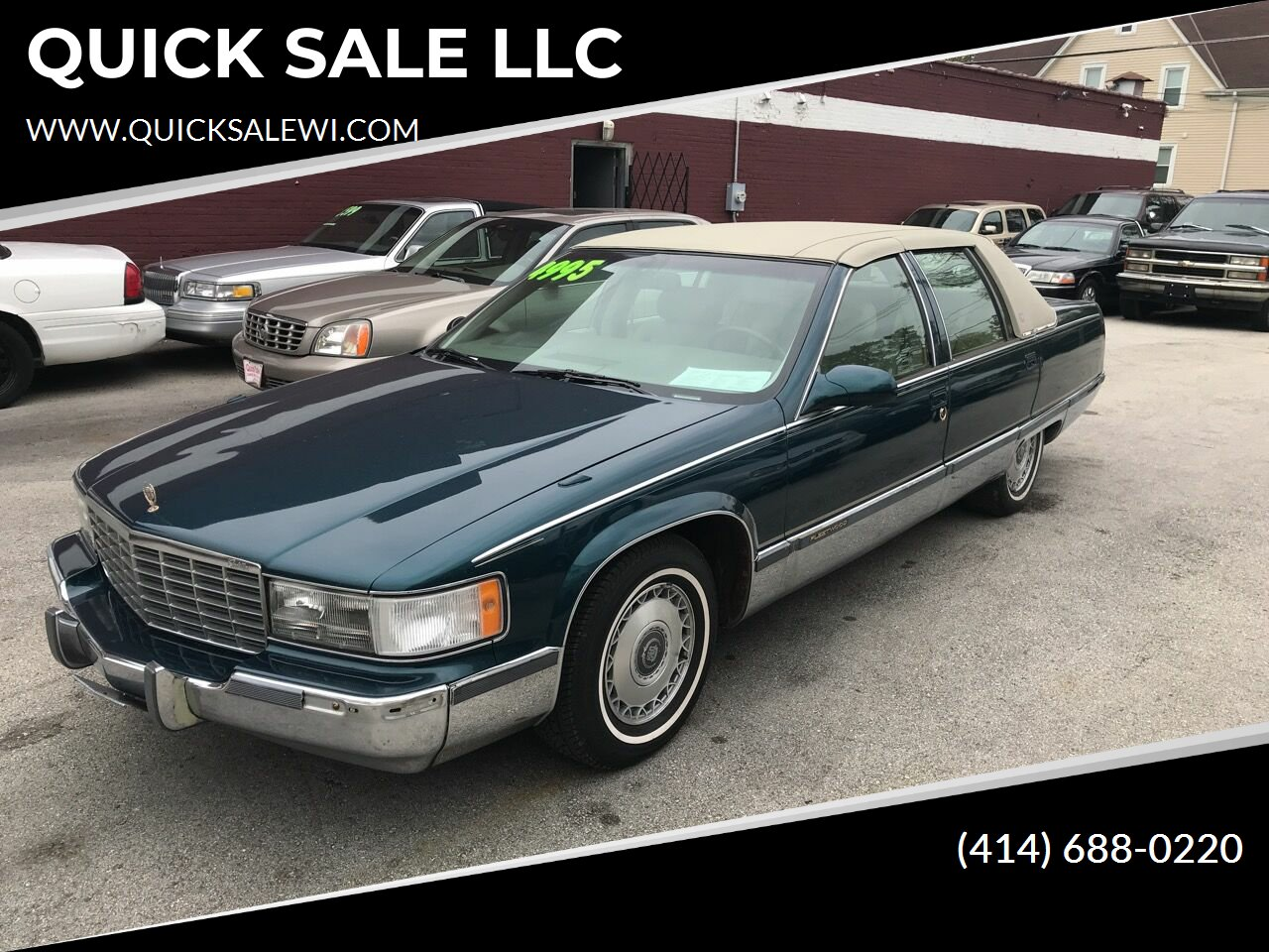 used 1995 cadillac fleetwood for sale carsforsale com used 1995 cadillac fleetwood for sale