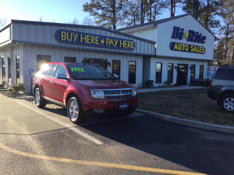 2010 Lincoln MKX for sale at Bi Rite Auto Sales in Seaford DE