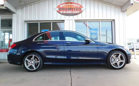 2015 Mercedes-Benz C-Class for sale at Motorsports Unlimited in McAlester OK