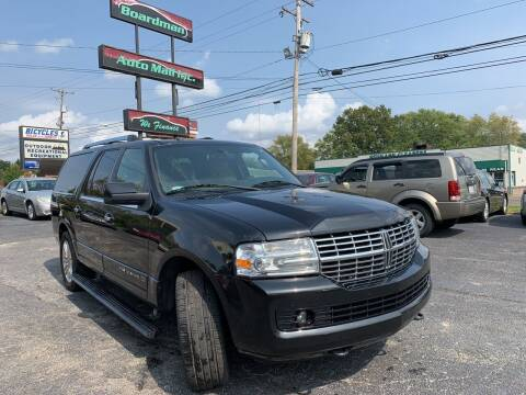 2014 Lincoln Navigator L for sale at Boardman Auto Mall in Boardman OH