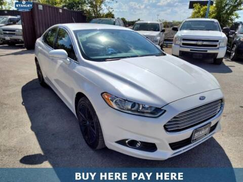 2013 Ford Fusion for sale at Stanley Automotive Finance Enterprise - STANLEY DIRECT AUTO in Mesquite TX