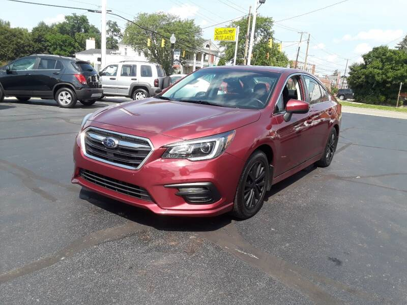 2018 Subaru Legacy for sale at Sarchione INC in Alliance OH